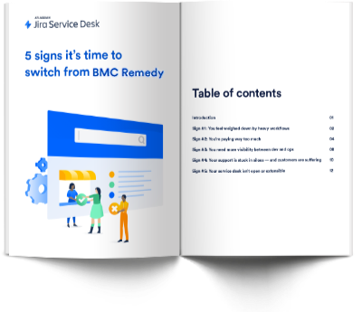 5 Signs it's time to switch to Jira Service Desk from BMC - Thank you 1