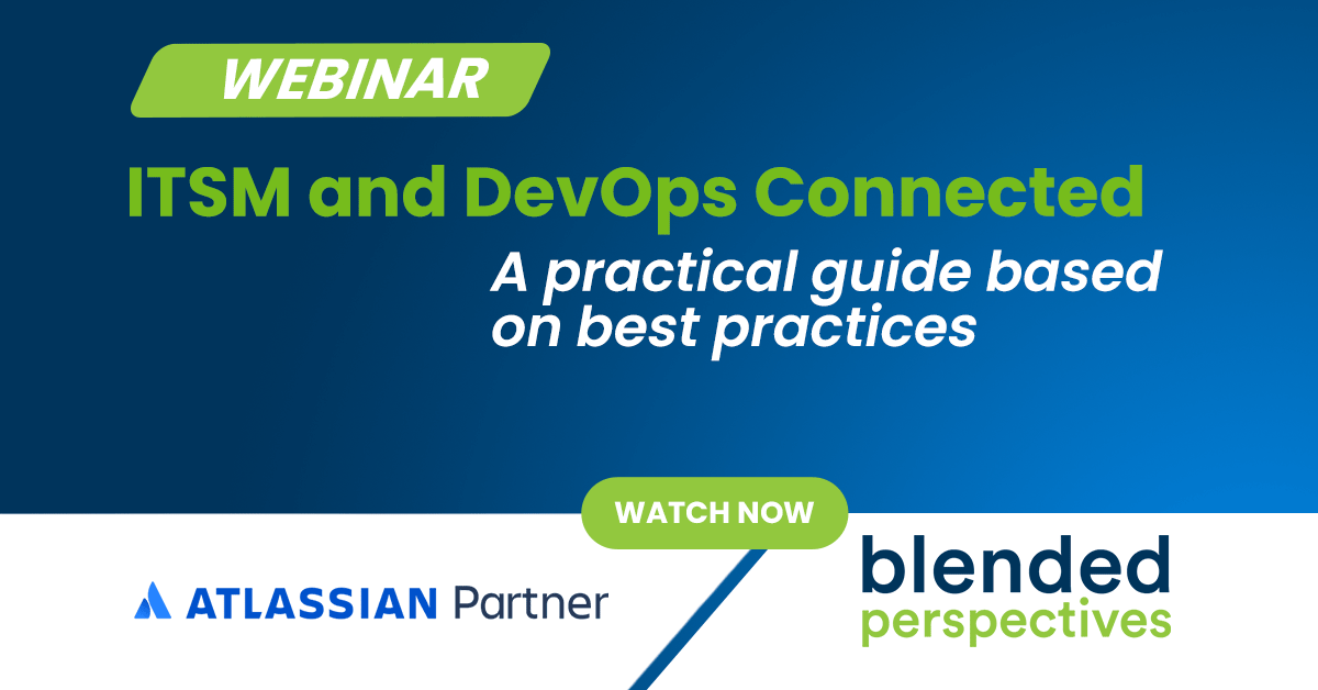 ITSM and DevOps Connected – a practical guide based on best practices. 21