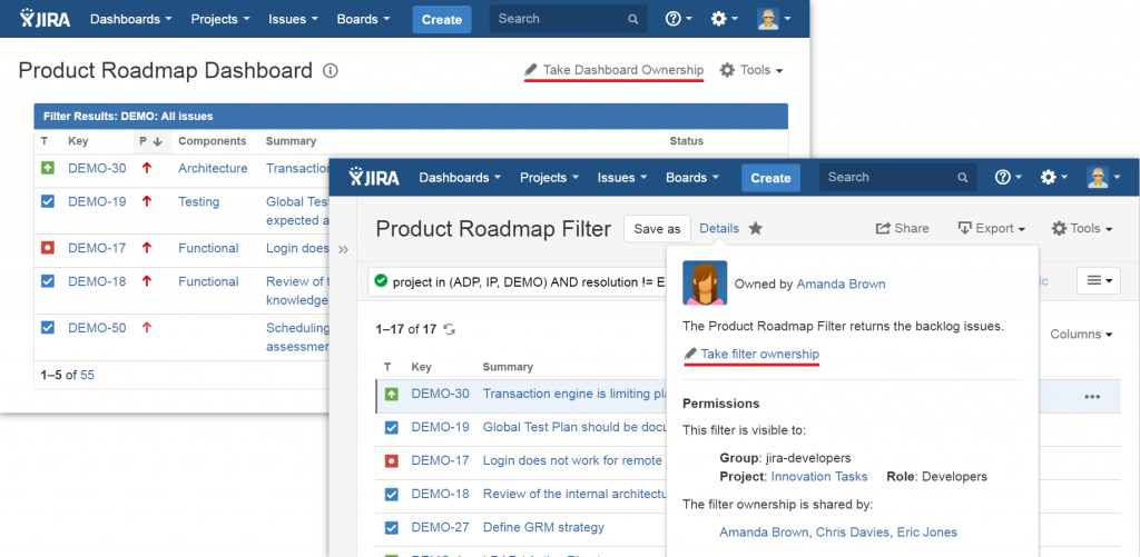 Shared Ownership for Dashboards and Filters 3