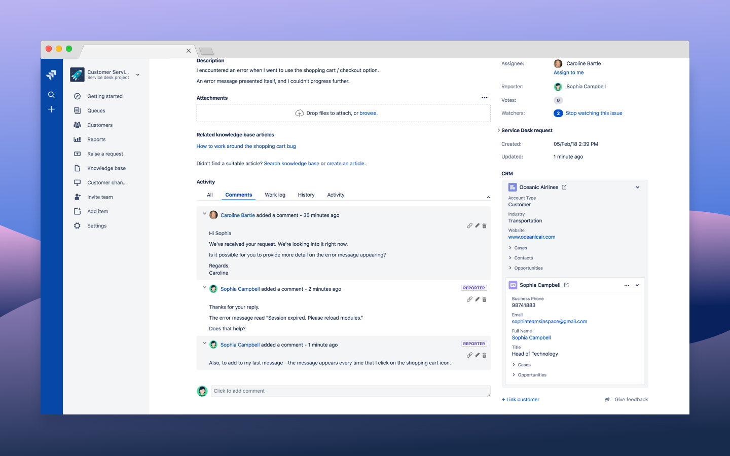 Jira Cloud for CRM (Official) 3