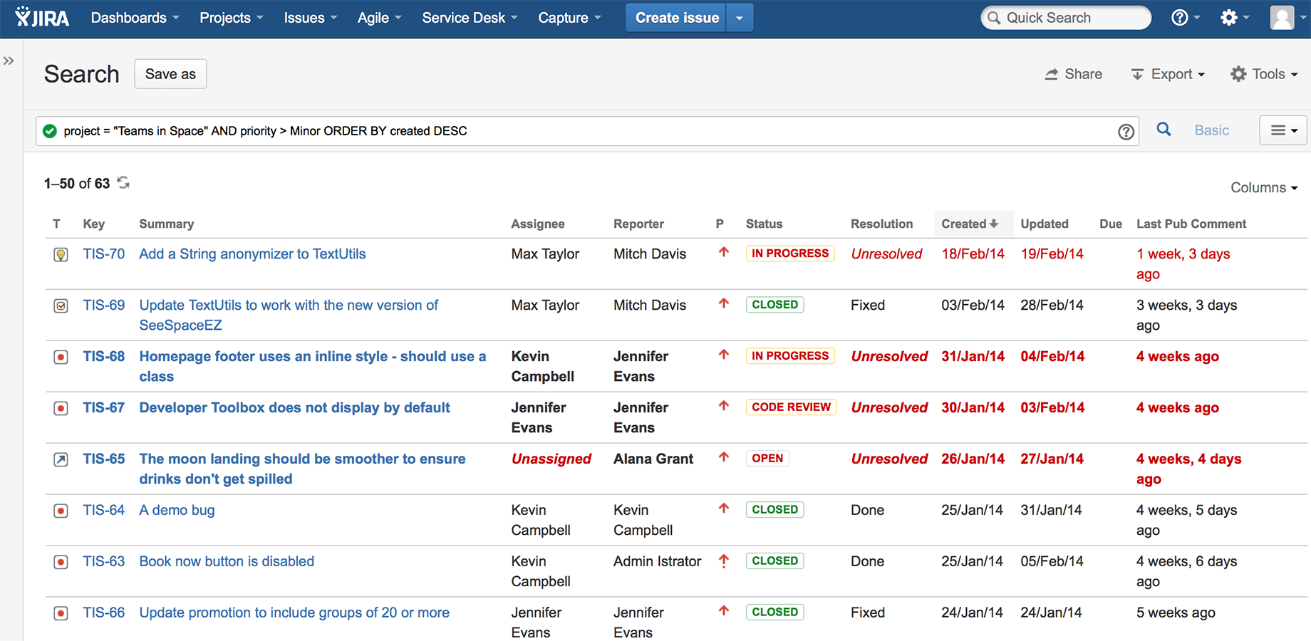 Toolkit Plugin for Jira 3
