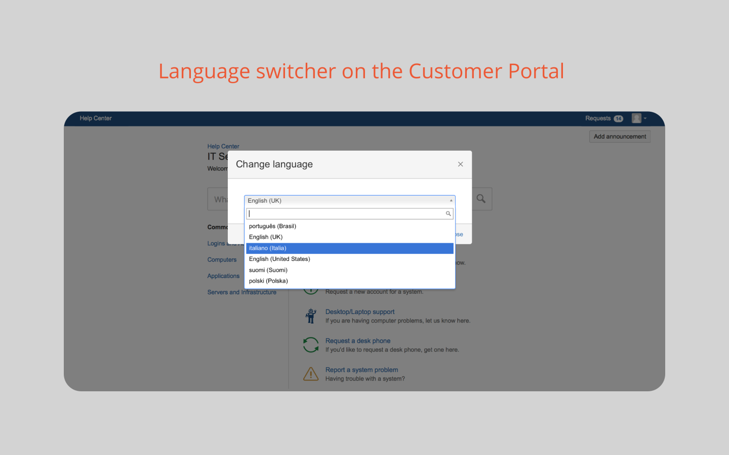 Translation for Jira Service Desk 3
