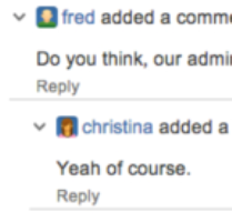 Threaded Comments for Jira 1