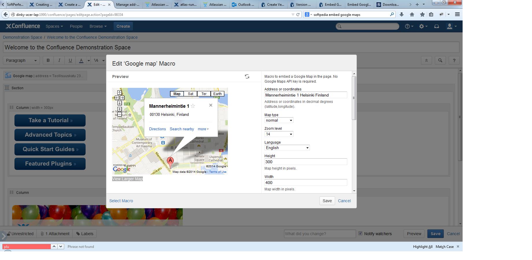 Intégrer Google Map 3