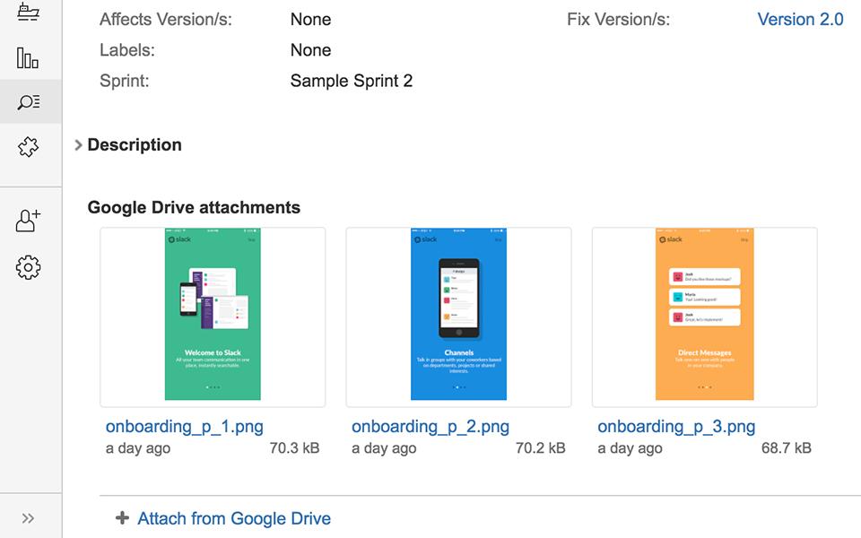 Google Drive & Docs for Jira 3
