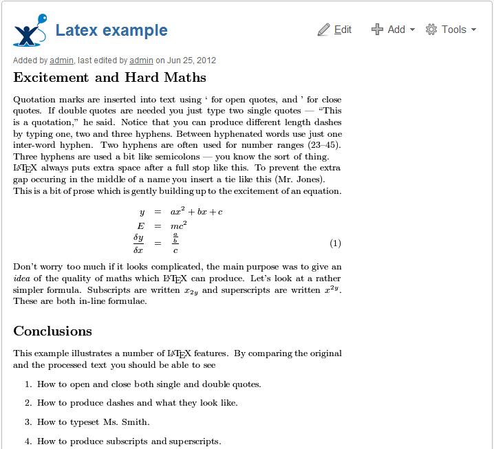 LaTeX Math 3