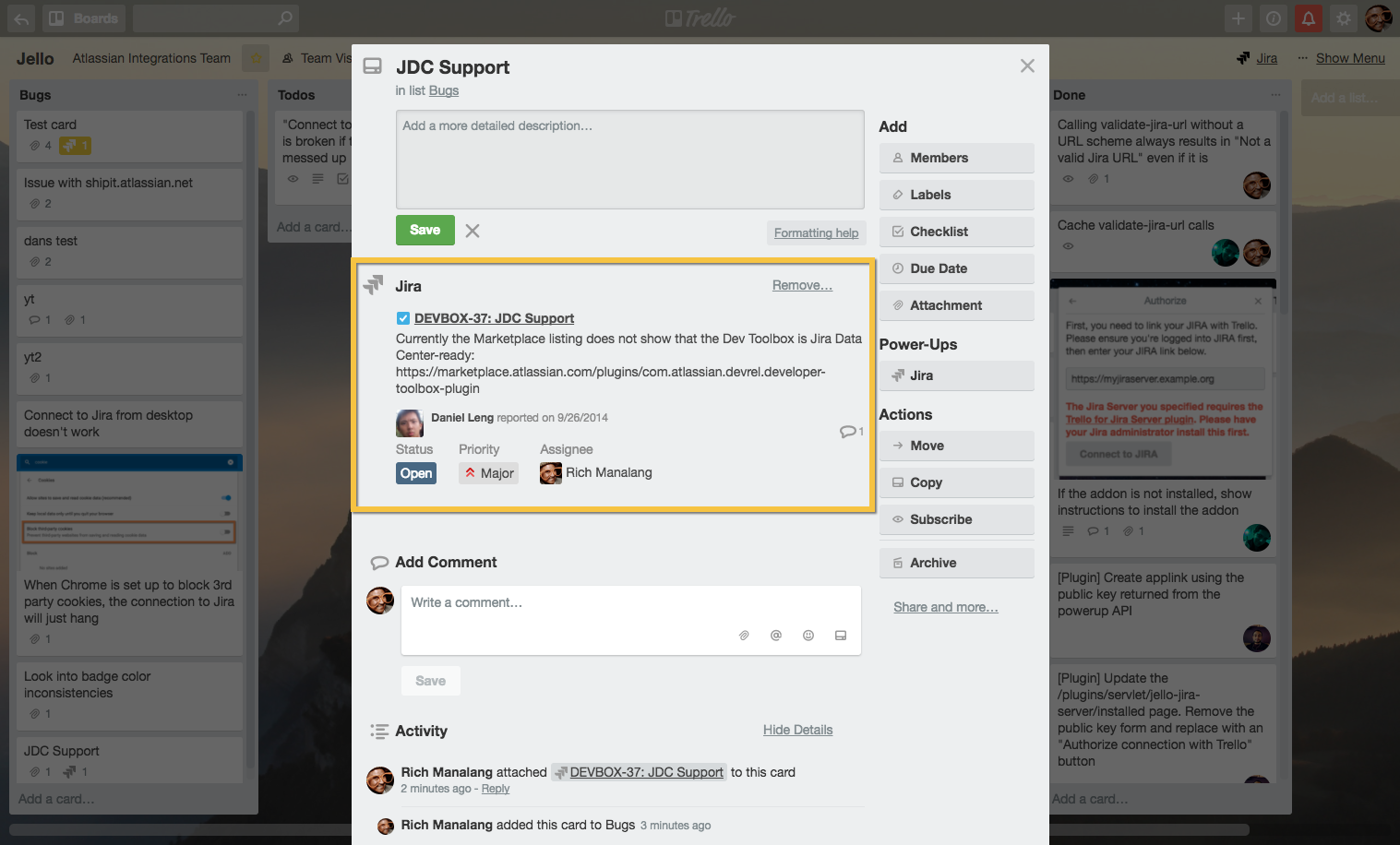Trello Connector for Jira Server 3