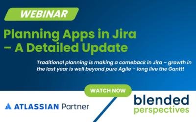 Webinar : Planification des applications dans Atlassian Jira - Une mise à jour détaillée