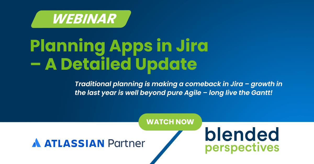 Webinar: Planning Apps in Atlassian Jira - A Detailed Update 23