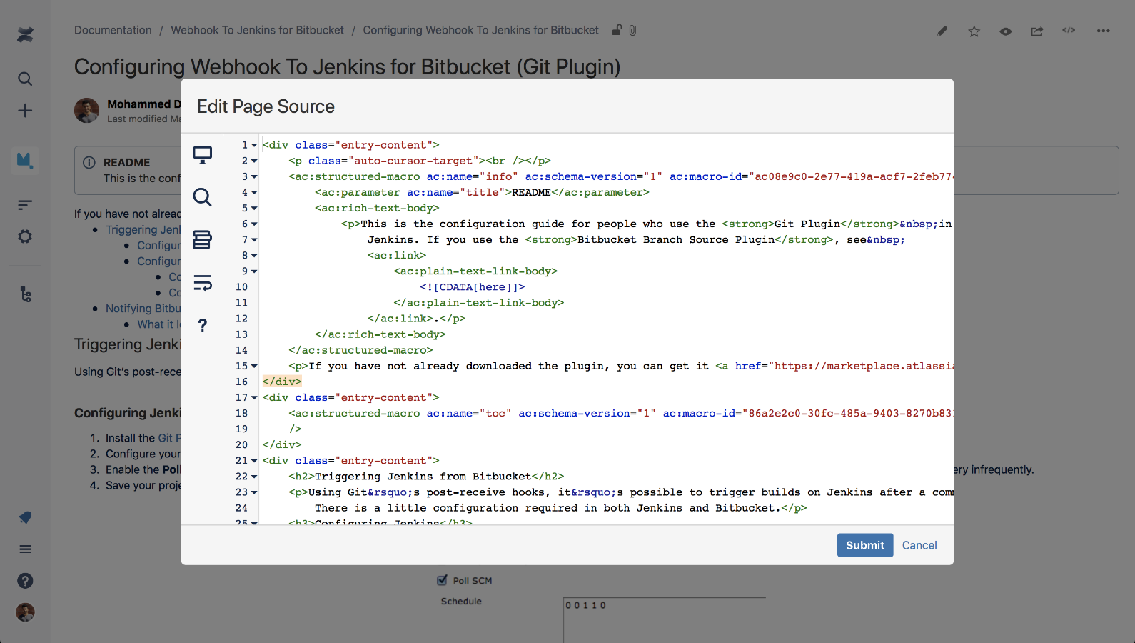 Source Editor for Confluence 3