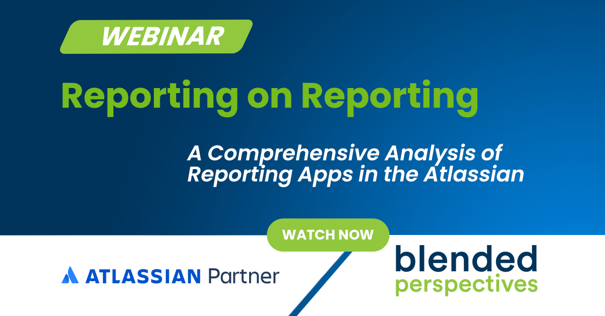 Reporting on Reporting - A Comprehensive Analysis of Reporting Apps in the Atlassian Marketplace 29