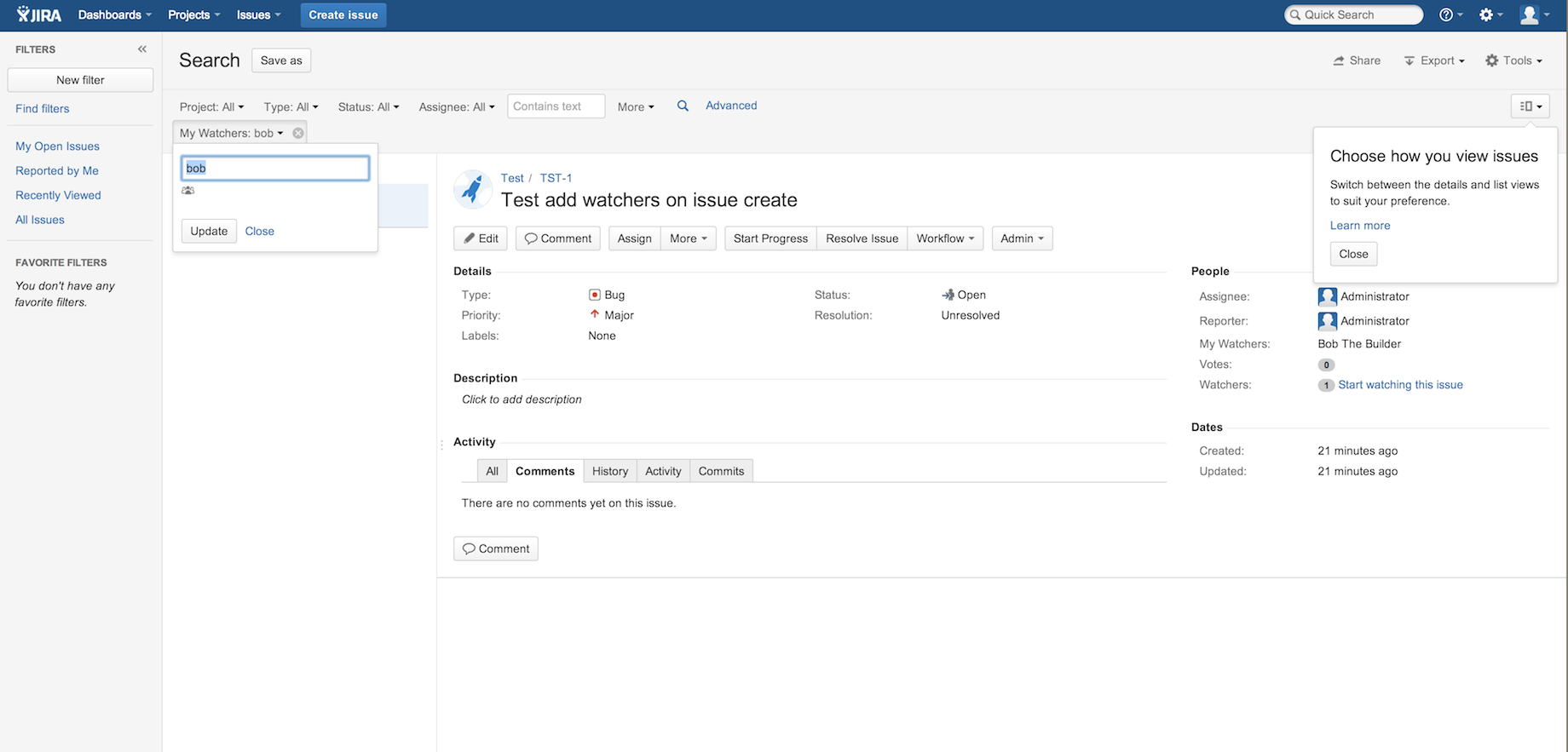 Watcher Custom Field for Jira 3