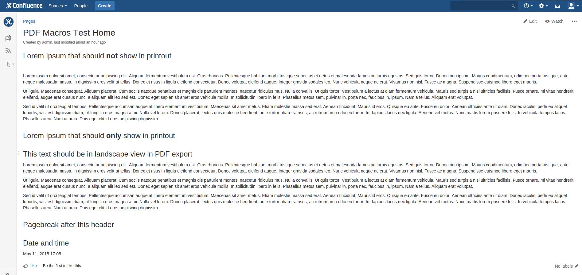 PDF Macros for Confluence 3