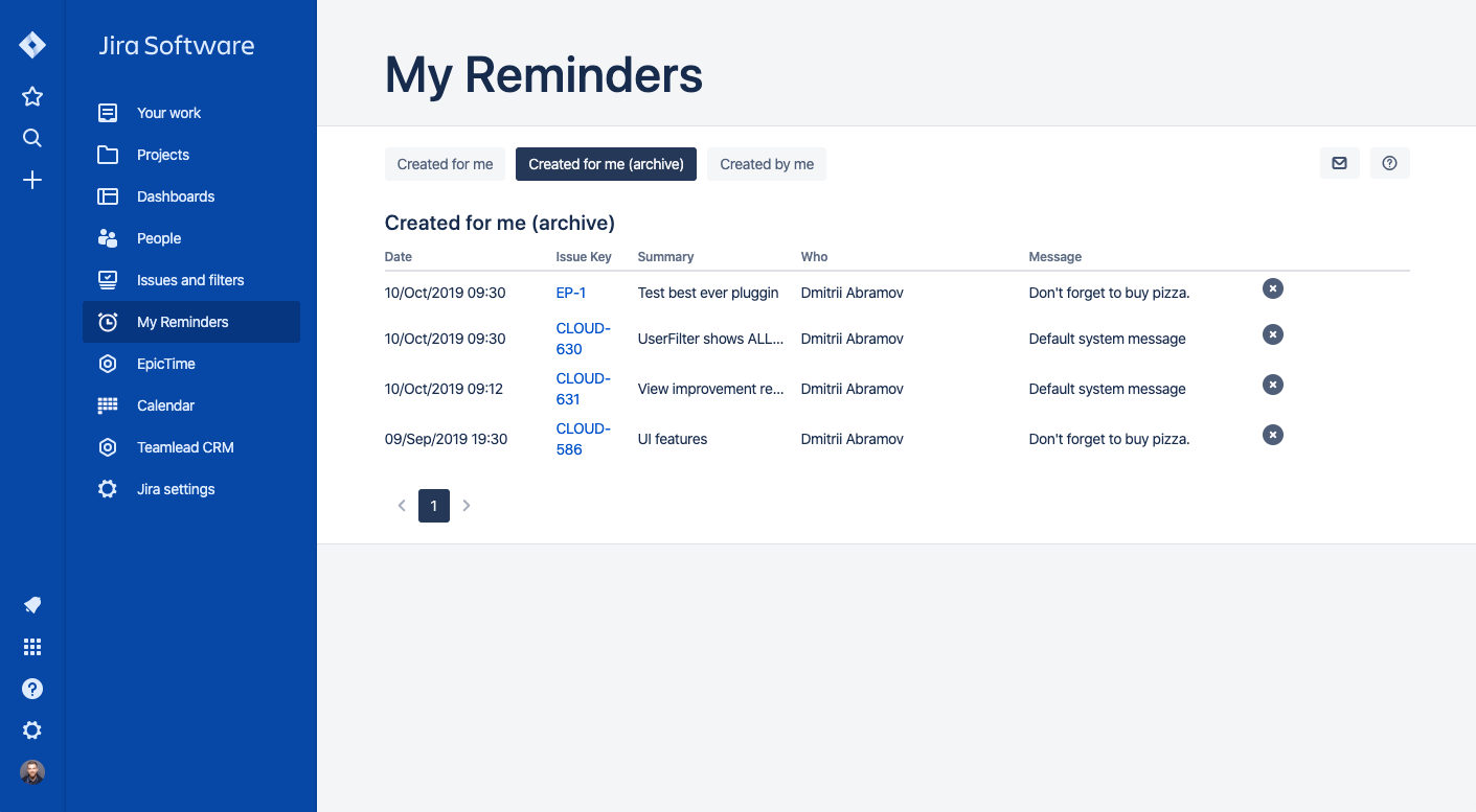 Reminder for Jira - Follow Up Issues 3