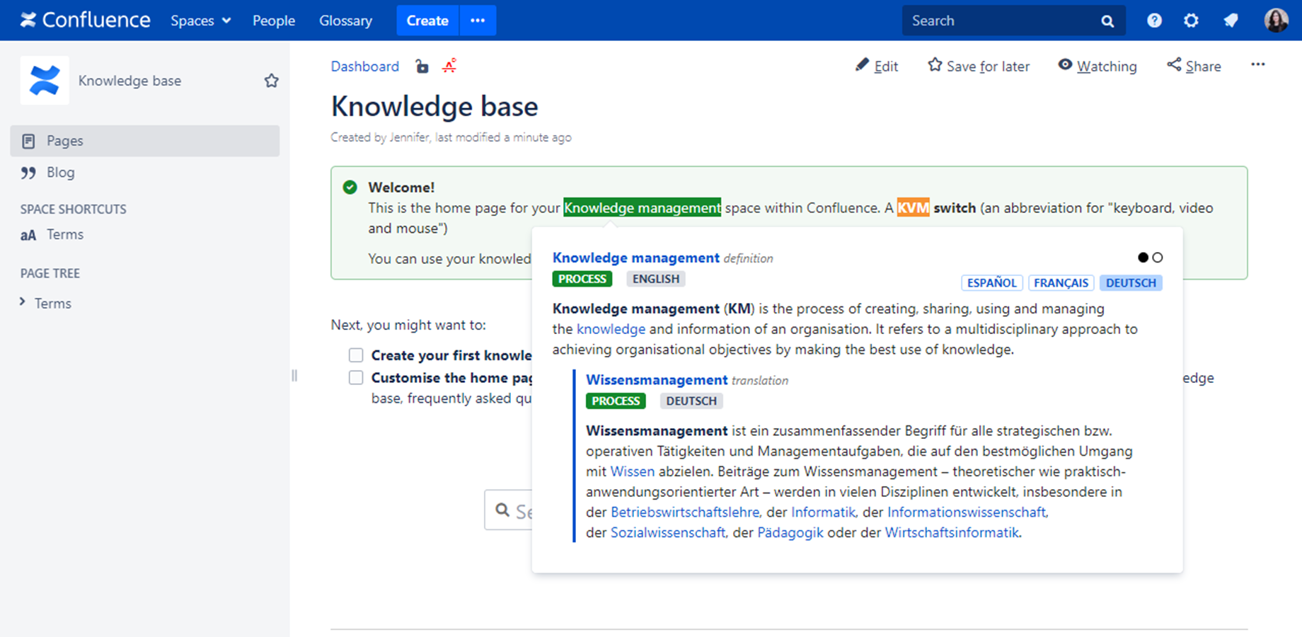 Link Less, Connect More. The Joy of Glossary Apps for Confluence 3