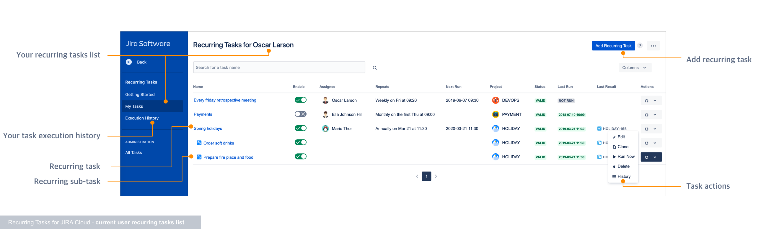 Recurring Tasks for Jira Cloud 3