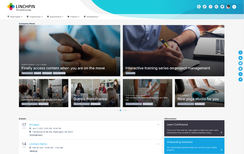 Linchpin Intranet Suite 4