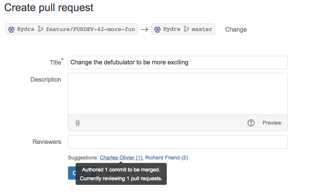Reviewer Suggester for Bitbucket Server 3