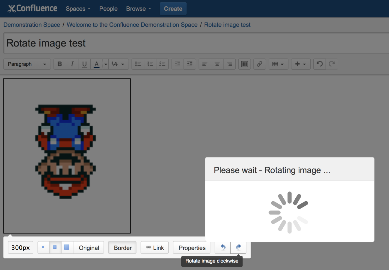 Rotate Images for Confluence 3