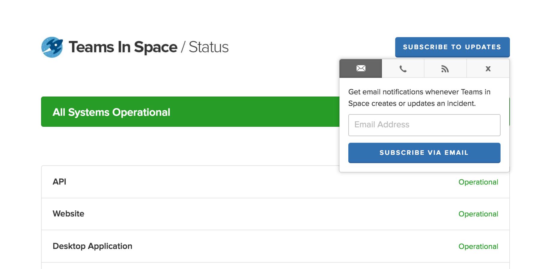 Statuspage for Jira Service Desk 3