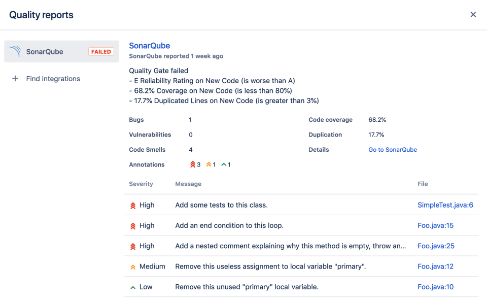 SonarQube™ for Bitbucket Server 3
