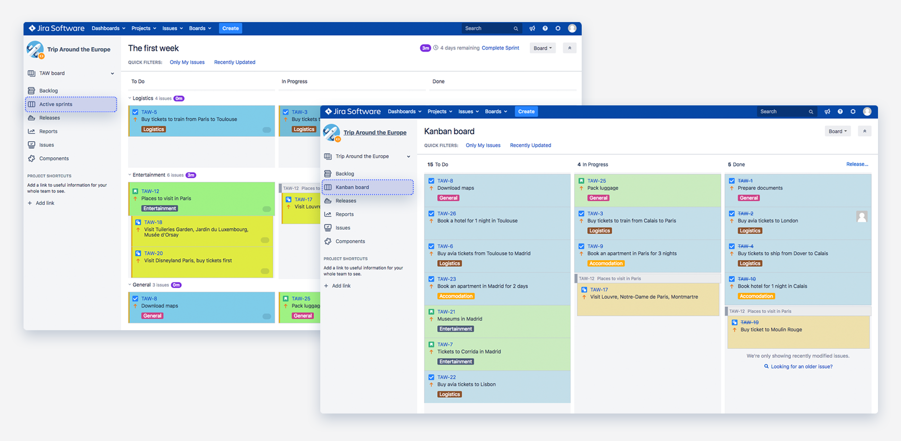 Color Cards for Jira 3