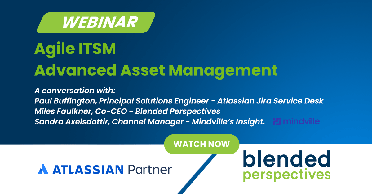Webinar: Agile ITSM Advanced Asset Management 24