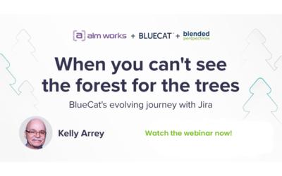 Webinar : Quand vous ne voyez pas la forêt pour les arbres - le voyage évolutif de BlueCat avec Jira