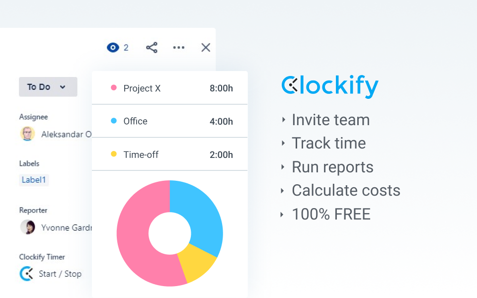 Clockify Time Tracking & Timesheet 3