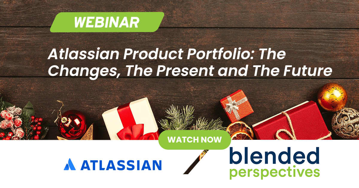 Webinar - Atlassian Product Portfolio: The Changes, The Present and The Future 17