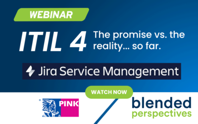 Webinar – ITIL 4: The Promise vs The Reality