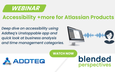 Webinar – Accessibility + more for Atlassian Products