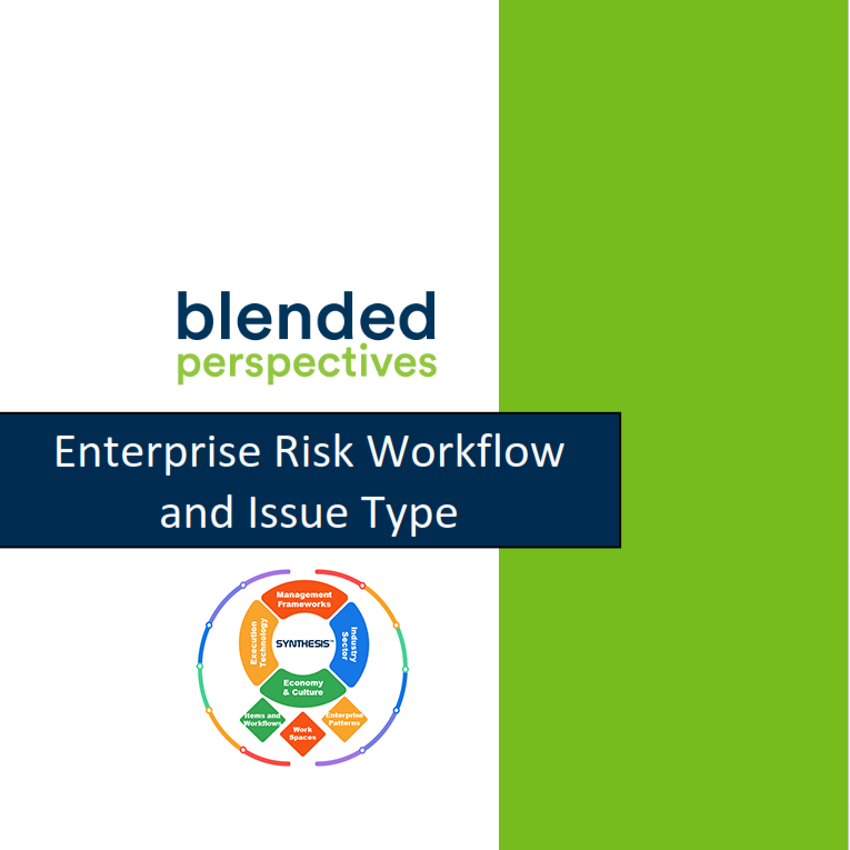 Enterprise Risk Workflow and Issue Type