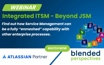 [Webinar] Integrated ITSM – Beyond JSM – April 15, 2021