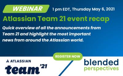 [Webinar] Récapitulatif de l'événement Atlassian Team 21