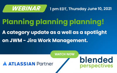 Webinar] Planification de la planification de la planification ! - 10 juin 2021