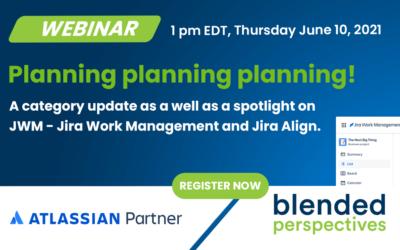 [Webinar] Planning planning planning! – June 10, 2021