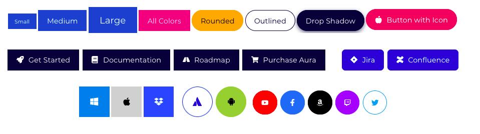 Aura buttons