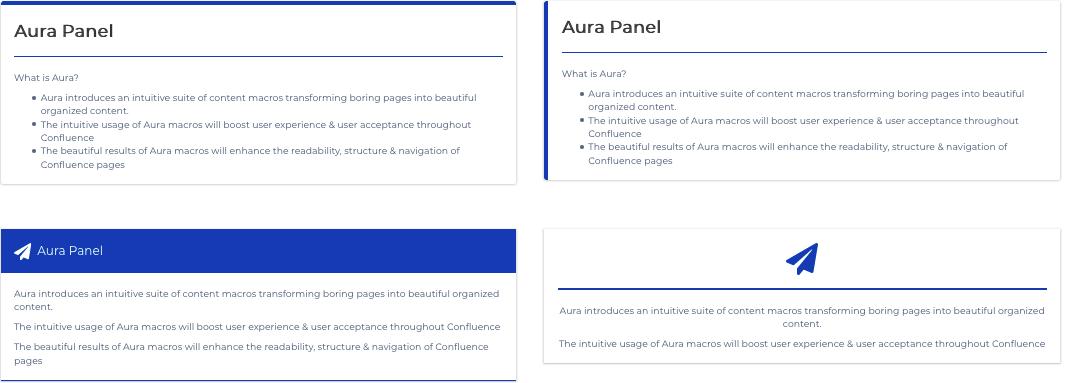 Aura panel