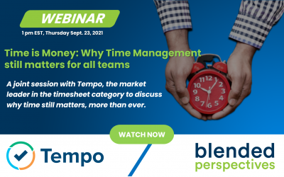 [Webinar] Time is Money – Why Time Management still matters for all teams