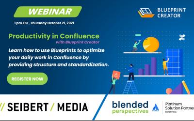 [Webinar] Productivity in Confluence – October 21, 2021